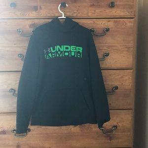 I'm selling a black under armor sweatshirt.